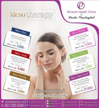 Promotion Mesotherapy