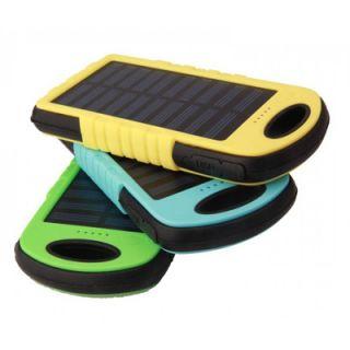 พาวเวอร์แบงค์โซล่าเซลล์ Power Bank Solar cell  แบตเตอรี่สํารอง พร้อมสกรีนโลโก้ ราคาถูก