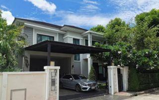 บ้านเดี่ยวขาย ติดศูนย์การค้า Robinsonลาดกระบัง เพอร์เฟค เลค อเวนิว มาสเตอร์พีช ขาย 11ล้านบาท